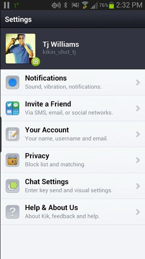 some one kik me