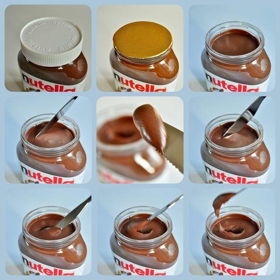 Buttercream Chocolate Chocolate Buttercream Chocolate♡ Close Up Close-up Day Fresh Hazelnut Jar Knife New Jar Nutella Nutella ♥ Story Storyboard Table Yummy EyeEm Selects