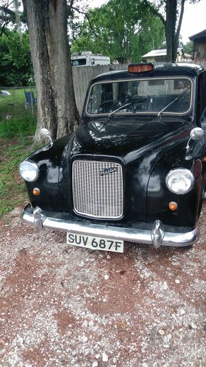 My brothers new car 1967 Austin English cab Car Transportation Mode Of Transport Beautiful Art Check This Out