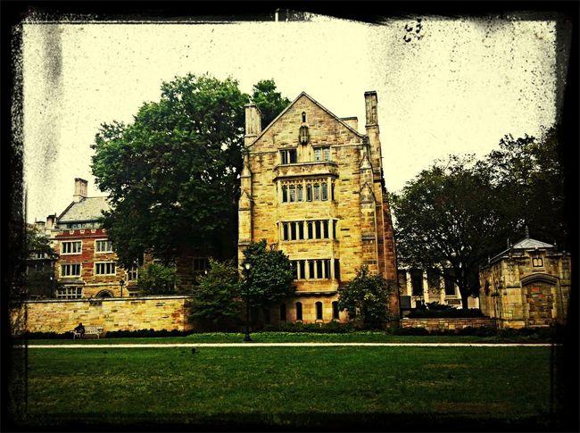 @yale Yale Old Buildings University