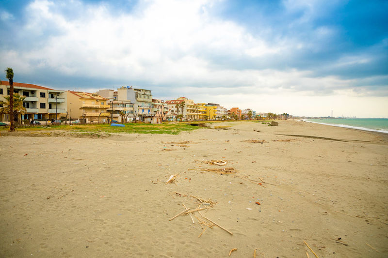 Italy Sicily Architecture Built Structure Cloud - Sky Sky Building Exterior Land Beach Building Nature Water Sea City Day Sand Residential District No People Outdoors House