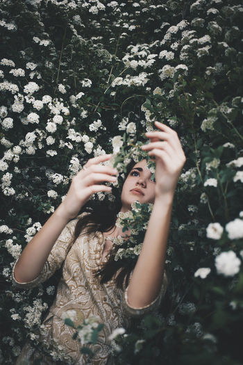 Southern dreams Best  Bestoftheday Colors Day EyeEm EyeEm Best Shots EyeEm Gallery EyeEm Nature Lover EyeEmBestPics EyeEmbestshots Eyes Flower Flowers Flowers,Plants & Garden Girl Lifestyles One Person Portrait Retro Vintage Young Women YOUPIC EyeEm Selects EyeEmNewHere