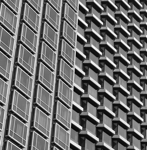 Contrast Facade. My Singapore Journey. Blackandwhite Black And White Streetphotography Abstract Building Exterior Building Hotel Lines And Patterns Eyeemphotography EyeEm EyeEm Best Shots EyeEm Selects Backgrounds Full Frame Aluminum Pattern Repetition In A Row Architecture Close-up Building Exterior Built Structure Conformity Architectural Detail Architectural Feature Architectural Design Skylight LINE Office Block Architecture And Art Parallel Geometric Shape Seamless Pattern