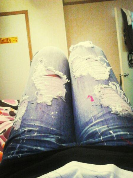 MYHII PRETTY PANTS!!!