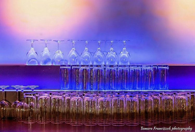 Glasses Colourfull Colours Purple Pink Blue Colourburst Bar Drinking Glasses Night Life Hanging Out Check This Out Hello World Canon D6 Full Frame Professional Camera Relaxing Enjoying Life Phone Edited EyeEm Gallery