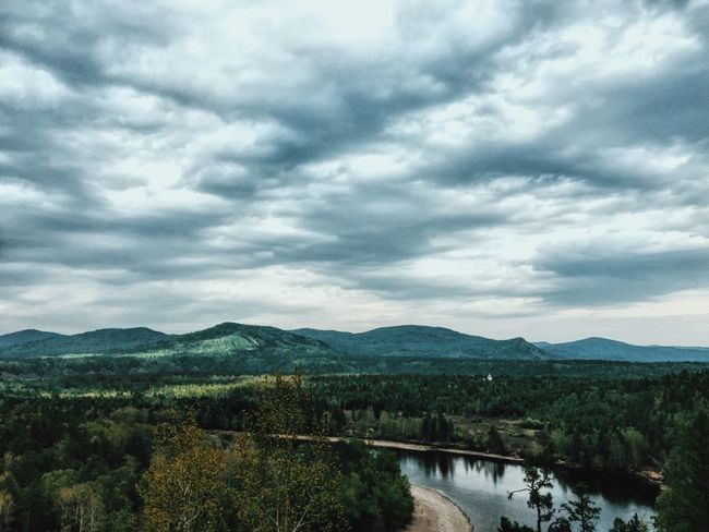 Mongolia Mongolian Landscape Landscape_Collection River Trip Graduation Trip