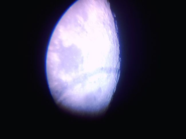 Telescope Moon Moonlight Space