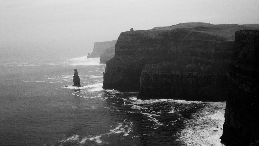 Happy St Patrick's Day everyone! Ireland Cliffs Of Moher  Black & White Naturelovers
