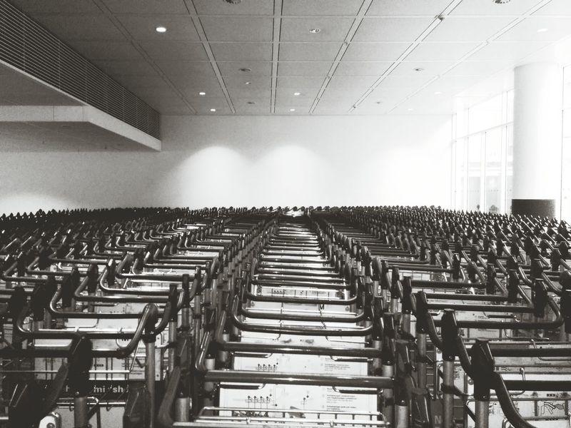 Things Organized Neatly Rows Of Things Trolleys