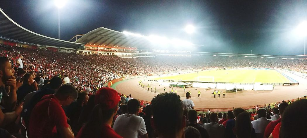Red star forever ❤ Redstar Crvena Zvezda Crvenazvezda Marakana Football Stadium Stadium Atmosphere Football Stadium Delije Delije Sever #urbanana: The Urban Playground