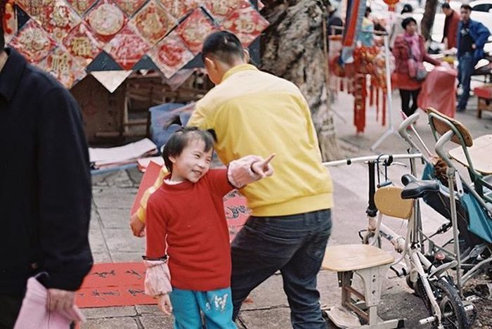 What are you 拍啥咧? . /Fuji业务100卷 Film Color Life Maoming Fuji OM1