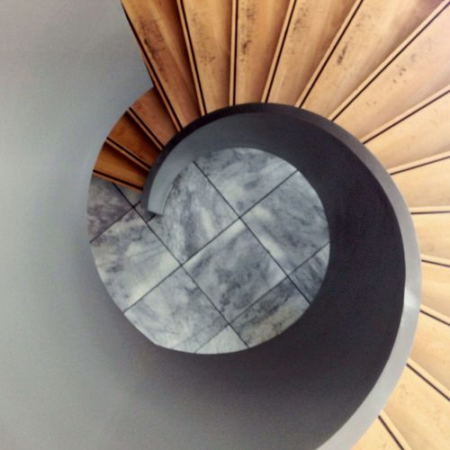 Winding Stairs Winding Stairs Stairs Stairs_collection Design Architecture Minimalism Berlin Hello World Circle Wood - Material Wood Career Upstairs Grey Stone Tiled Floor Snake Business Germany Abstract Art The Architect - 2017 EyeEm Awards The Graphic City Colour Your Horizn