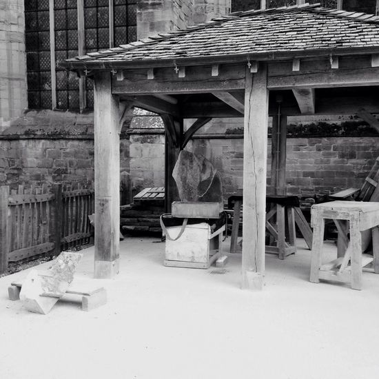 hereford cathedral hereford stonemason art the stonemasons y Hereford Cathedral Hereford Stonemason Art Photojournalism Blackandwhite Construction Site Architectural Column Bridge - Man Made Structure Wood - Material No People Day Built Structure Architecture Connection Building Exterior Old Building Industry Transportation Construction Industry Abandoned Outdoors Nature Roof