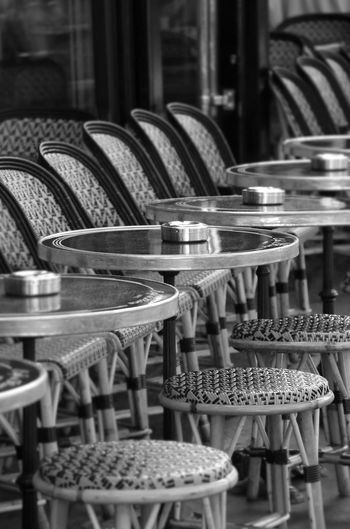 At #cafedeflore in #Paris 🇫🇷 ☕️ Brasserie Coffee Fashion France ParisianLifestyle SaintGermaindesPres Terrace Abundance Arrangement Cafe Chair Day Food And Drink Frenchphotographer In A Row Large Group Of Objects Lifestyles No People Restaurant Rivegauche Saintgermain Stgermain Store Streetphotography Table