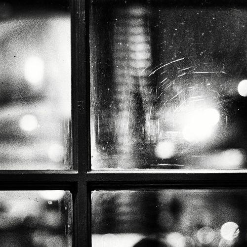 Full frame shot of illuminated window