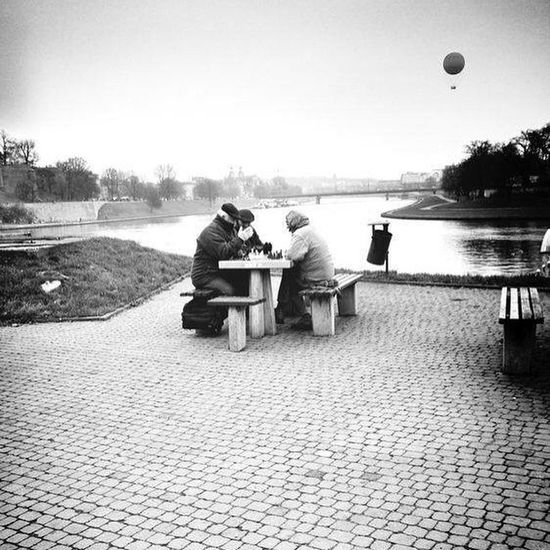 Tabletop Oldlovers Oldfriends Moments the history behind thos picture has many many ramifications Walking Around Streetphoto_bw Balloons Old Guys Moment Eye4photography