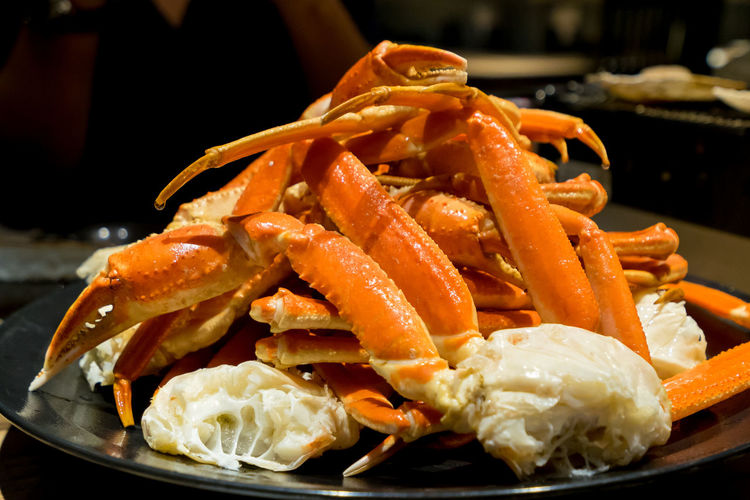Asian Food Close-up Crab Crustacean Focus On Foreground Food Food And Drink Freshness Fried Healthy Eating Indoors  Japanese Food Kenhina No People Orange Color Plate Ready-to-eat Seafood Serving Size Snack Still Life Wellbeing