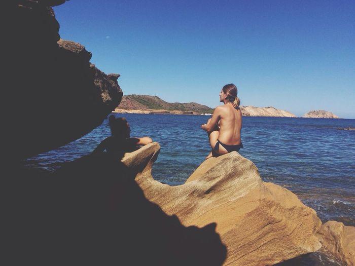 Hablar por hablar Amigas❤ Menorca