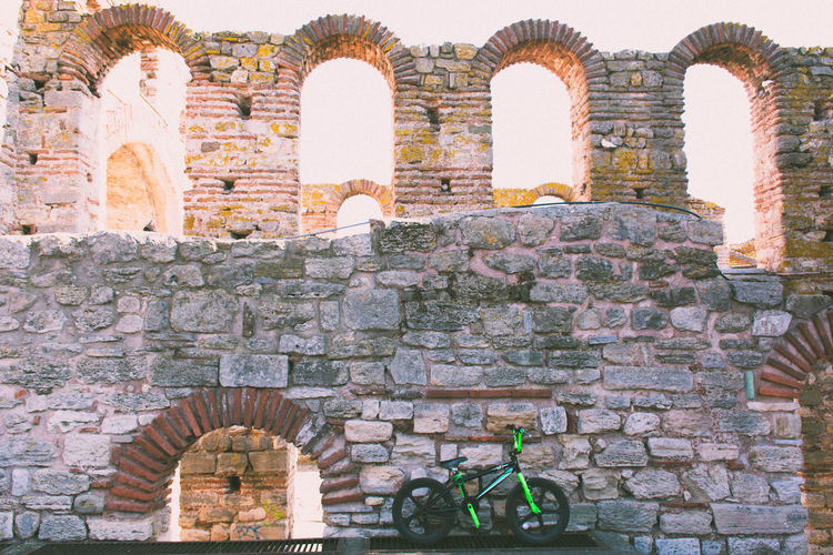 The Black Sea Coast Arch Architecture Day History Horizontal No People Old Ruin Outdoors Religion Travel Destinations