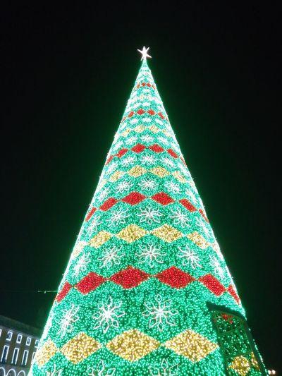 Christmas Decoration Innovation Illuminated Tree Christmas Christmas Lights Futuristic Celebration Christmas Ornament christmas tree