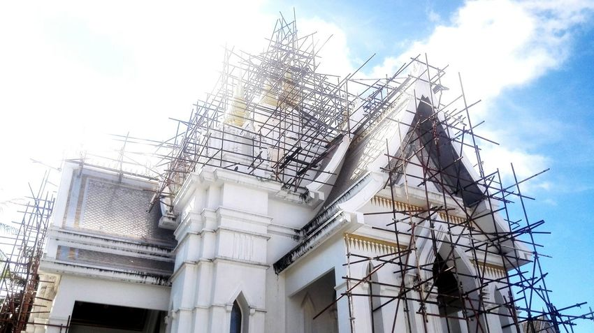 Construction Work Temple Architecture