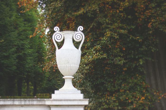 Autumn colors Potsdam Day No People Outdoors Park Sansoucci Sculpture Statue Tree