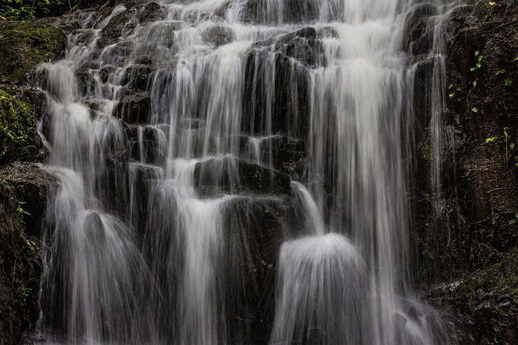 Phuket waterfall Beauty In Nature Blurred Motion Environment Flowing Flowing Water Idyllic Long Exposure Motion Nature Outdoors Rock - Object Scenics Thailand Tranquil Scene Tranquility Water Waterfall