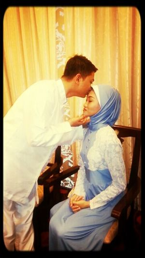 My simple wedding day♡