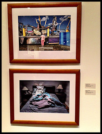 Mark Powers had several fine works Photoworks Exhibition