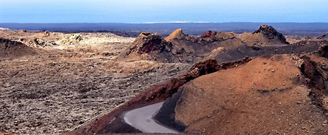 Landscapes With WhiteWall Lanzarote Volcanoes Lava Landscape Volcanic Landscape Landscape_Collection Landscape_photography Landscape With Whitewall Seascape Enjoying The View Traveling Hot Earth The KIOMI Collection The Great Outdoors - 2016 EyeEm Awards