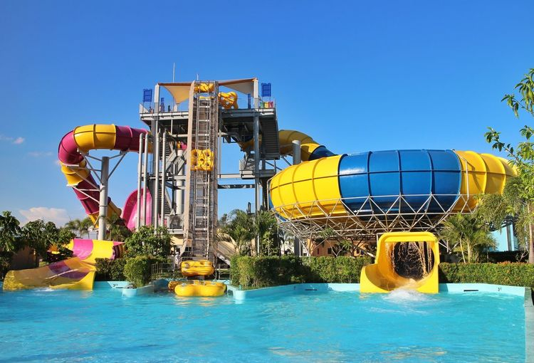 water slides Pampanga Philippines Summer Water Slide Water Swimming Pool Amusement Park Ride Water Park Arts Culture And Entertainment Amusement Park Rollercoaster Sky Slide - Play Equipment