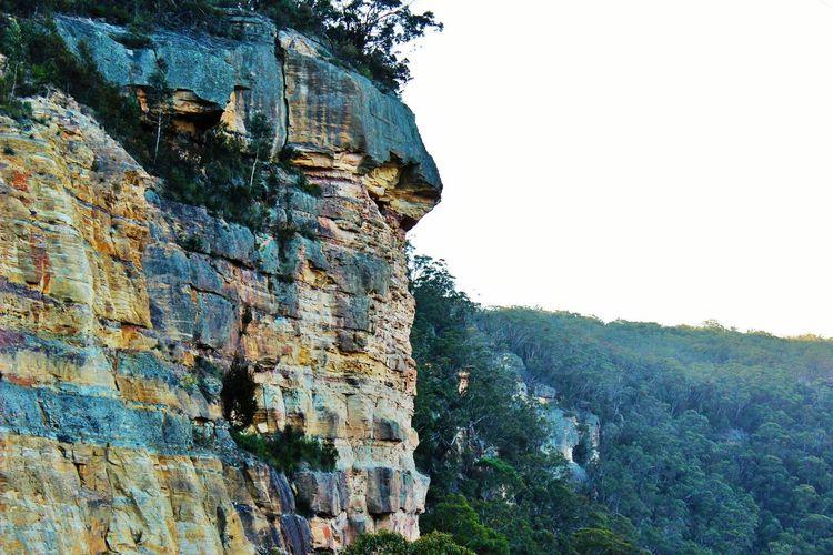 Rocky Mountain Against Clear Sky