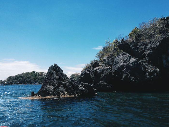 Sea Water Blue