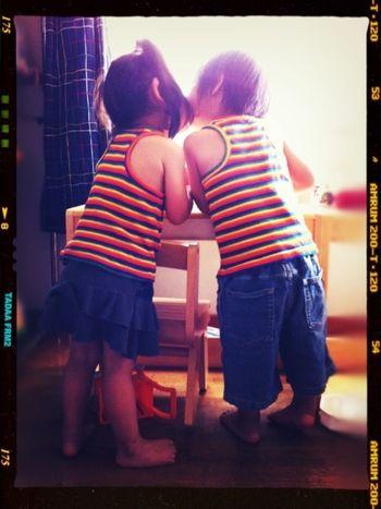 ツインズ。 Twins 双子