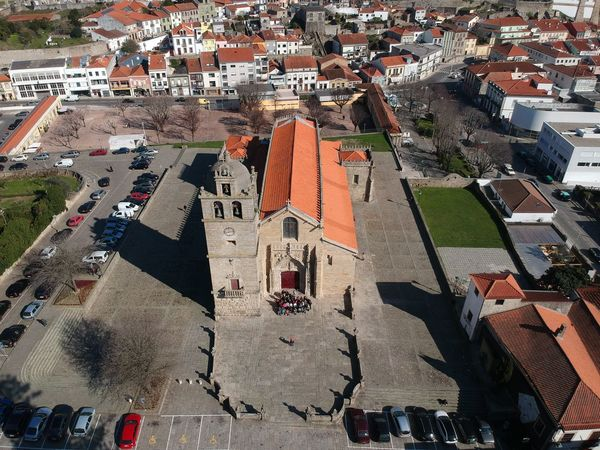 Igreja Matriz - Vila do Conde, Portugal DJI X Eyeem Architecture Building Exterior Built Structure City Cityscape Crowded Day Dji Spark High Angle View Nature Outdoors People Residential  Residential Building Residential District Roof Sky Town Vila Do Conde