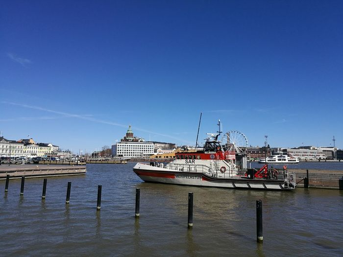Harbor Water Sea Travel Destinations Blue Clear Sky City Outdoors