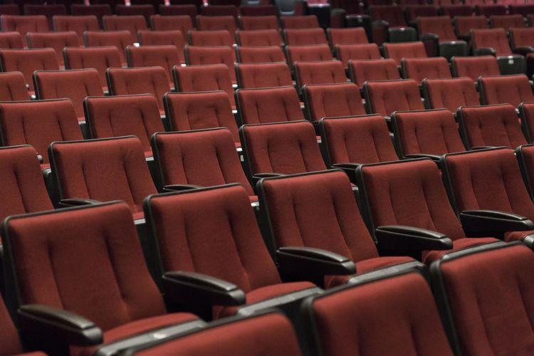 Empty seats in