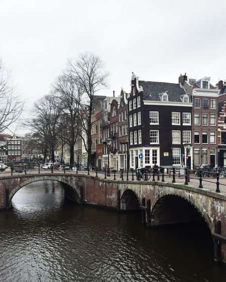 Amsterdam Amsterdam Canal Amsterdamcity Amsterdamse Grachten Architecture Bare Tree Bridge - Man Made Structure Canal Canals Canals And Waterways City City City Life Cityscape Cityscape Cityscapes Day Houseboat Houseboats In Amsterdam No People Outdoors Travel Destinations Water Winter