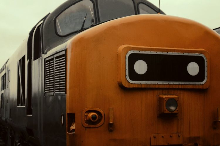 Brown Transportation Car Old-fashioned Close-up No People Outdoors Day Class 37 Bolton Abbey And Embsay Railway Railway Diesel Locomotive