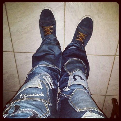 Et voilà mon cadeau de Noël : un jeans Japrag !