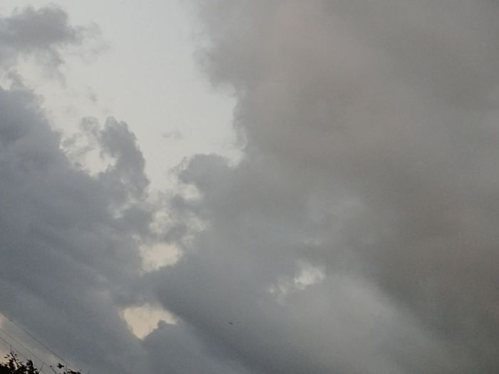 Seeing Who Do You See What I See? Faces Look Up Cloud Speak Sky Beauty In Nature Scenics - Nature No People Tranquility Cloudscape Tranquil Scene Environment Outdoors Full Frame