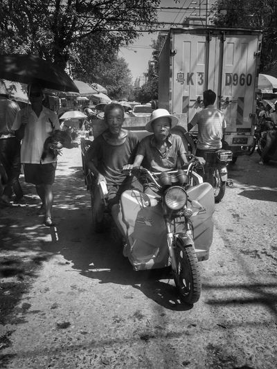 Transportation City Street Real People Group Of People Mode Of Transportation EyeEmNewHere