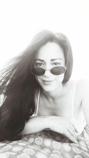 Self Portrait Selfportrait Selfie Portrait Selfies Selfie ♥ Girl In The Beach Selfie With Sun Sunglasses Sunglass  Sunglass Selfie Smile Girl Smile She Smiles She Smiling She Smiles :) Dark Hair Long Hair Selfie Black And White Selfie Black &white Selfie Moments Selfietime Relaxing Bikini Time❤ Bikini Bikini Top