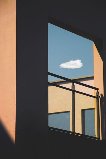 Illusions n17. New serie. Architecture Built Structure Sky Cloud - Sky Sunlight Nature Window No People Building Exterior Geometric Shape Shadow Outdoors