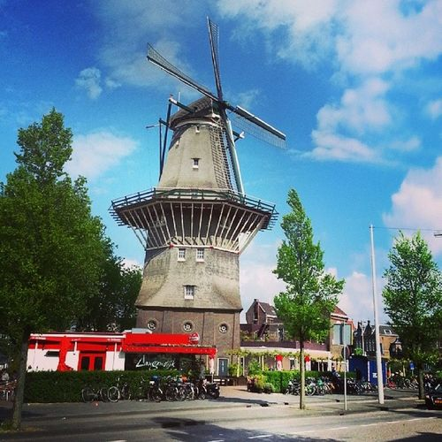 Moinho Amsterdam Holland Holanda europe europa eurotrip