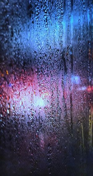 Wet Drop Rain Water Window Full Frame Glass - Material Mode Of Transportation Vehicle Interior Transparent Transportation Car Backgrounds Close-up Motor Vehicle No People Nature Rainy Season RainDrop Glass