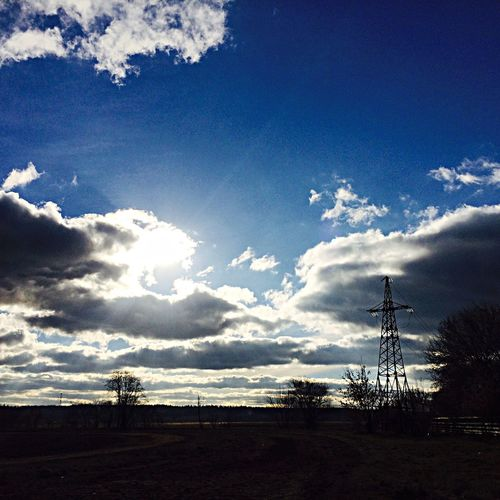 Sky Sun November