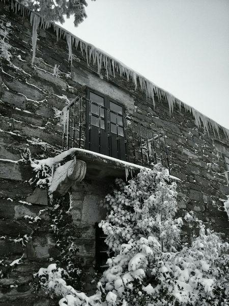 Balcón no Cebreiro. O Cebreiro Galiza Neve Snow