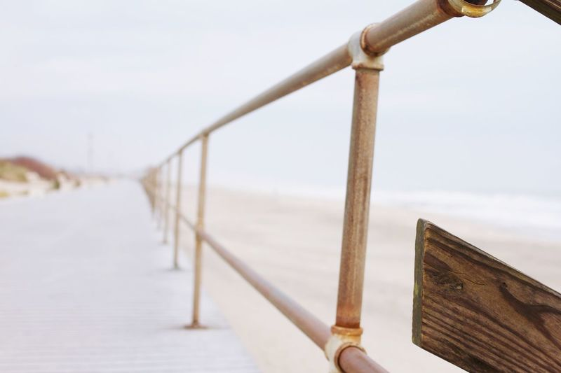 Wood EyeEm Selects Railing Sky Architecture Focus On Foreground Day Nature No People Wood - Material EyeEmNewHere