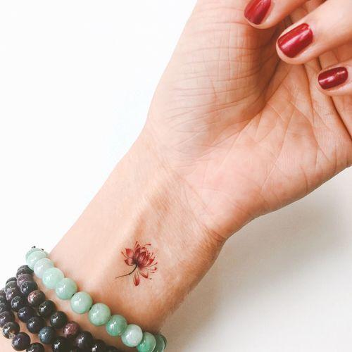 Hello World Beautiful Enjoying Life That's Me Tattoo Lotus Flowers EyeEm